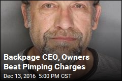Backpage CEO, Owners Beat Pimping Charges