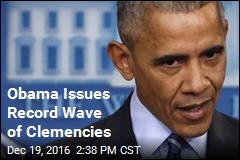 Obama Issues Record Wave of Clemencies