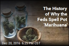 The History of Why the Feds Spell Pot 'Marihuana'