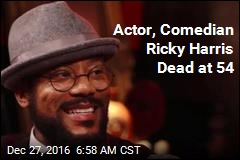 Actor, Comedian Ricky Harris Dead at 54