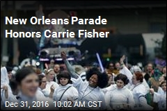 New Orleans Parade Honors Carrie Fisher