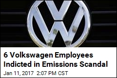 6 Volkswagen Employees Indicted in Emissions Scandal