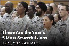 These Are the Year's 5 Most Stressful Jobs
