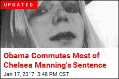Chelsea Manning Will Be Freed in May