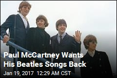 McCartney Suing Sony Over Beatles Songs