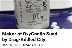City to OxyContin Maker: Pay Up for Our Addiction Problem