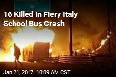 16 Killed in Fiery Italy School Bus Crash