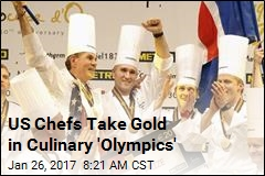 US Chefs Take Gold in Culinary 'Olympics'