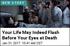 Your Life May Indeed Flash Before Your Eyes at Death