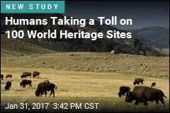 Humans Taking a Toll on 100 World Heritage Sites