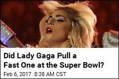 Not So Fast on Lady Gaga's 'Apolitical' Super Bowl Show