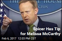 Spicer Has Tip for Melissa McCarthy