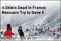 Rescuers Try to Save 5 After Deadly Avalanche