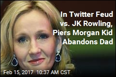In Piers Morgan Twitter Fight, JK Rowling Will Not Be Tamed