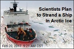 Scientists Plan to Strand a Ship in Arctic Ice
