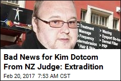 Bad News for Kim Dotcom From NZ Judge: Extradition