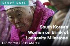 South Korean Women on Brink of Longevity Milestone