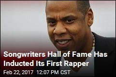 Jay Z is 1st Rapper Inducted Into Songwriters Hall of Fame