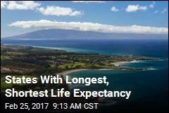 States With Longest, Shortest Life Expectancy