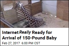 Internet Eagerly Awaits Arrival of 150-Pound Baby