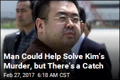 Man Could Help Solve Kim's Murder, but There's a Catch