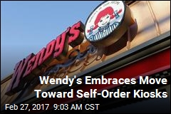 Wendy's Adding Lots More Self-Order Kiosks
