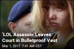 'LOL Assassin' Leaves Court in Bulletproof Vest