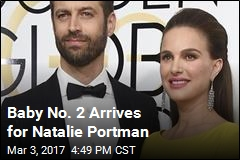 Natalie Portman Welcomes Baby No. 2
