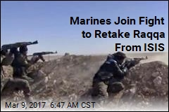 Marines Join Fight to Retake Raqqa From ISIS