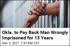 Wrong Man Spent 13 Years in Prison. He's About to Get $175K