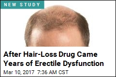 After Hair-Loss Drug Came Years of Erectile Dysfunction