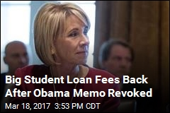 Trump Change Means Student Loan Defaulters Face Big Fees