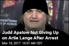 Judd Apatow Not Giving Up on Artie Lange After Arrest