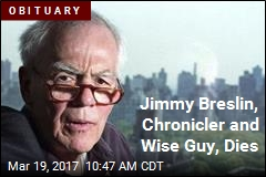 Jimmy Breslin, Chronicler and Wise Guy, Dies