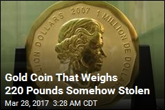 Thieves Make Off With Giant $4M Gold Coin
