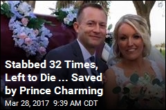 Stabbed 32 Times, Left to Die ... Saved by Prince Charming