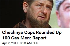 Chechnya Cops Rounded Up 100 Gay Men: Report