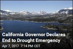 California Governor Declares End to Drought Emergency