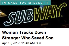 Woman Tracks Down Stranger Who Saved Son