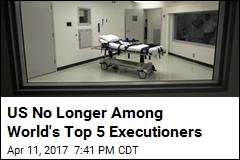 US No Longer Among World's Top 5 Executioners