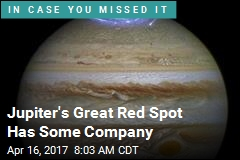 Jupiter's Great Red Spot Has Some Company