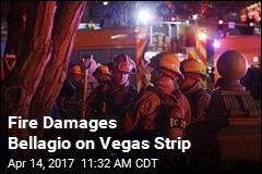 Fire on Bellagio's Roof Causes Scare on Vegas Strip
