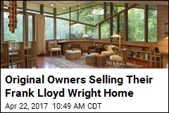 Frank Lloyd Wright Home for Sale With Original Furniture