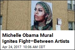 Artist: Muralist Swiped My Image of Michelle Obama