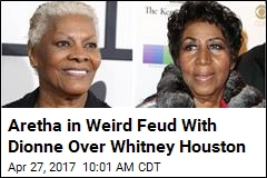 Aretha in Weird Feud With Dionne Over Whitney Houston