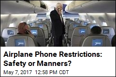 Are Cell Phone Rules on Planes to Protect Safety or Sanity?