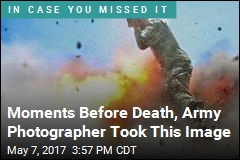 Moments Before Death, Army Photographer Took This Image