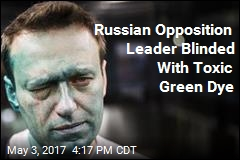 Man Who Wants to Be Russian President Blinded in Attack
