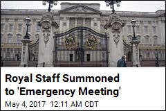 Royal Staff Summoned to 'Emergency Meeting'