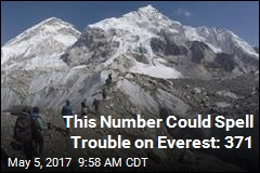 Despite Dangers, Everest More Crowded Than Ever